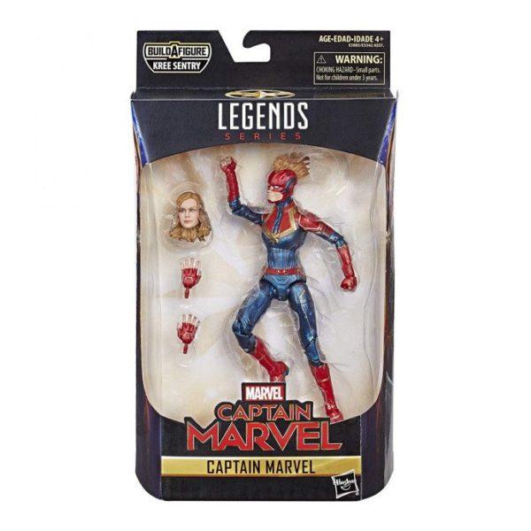 "Hasbro Captain Marvel 6"" Action Figure"