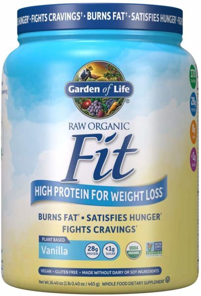 Buy Garden Of Life Raw Organic Fit Protein Powder Vanilla 457g Price Specifications Features Sharaf Dg