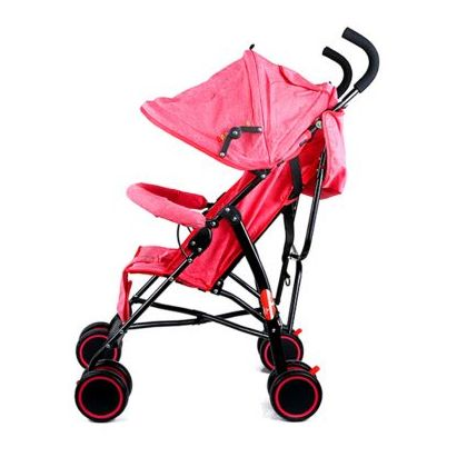 Baby Plus Light Weight Stroller Red