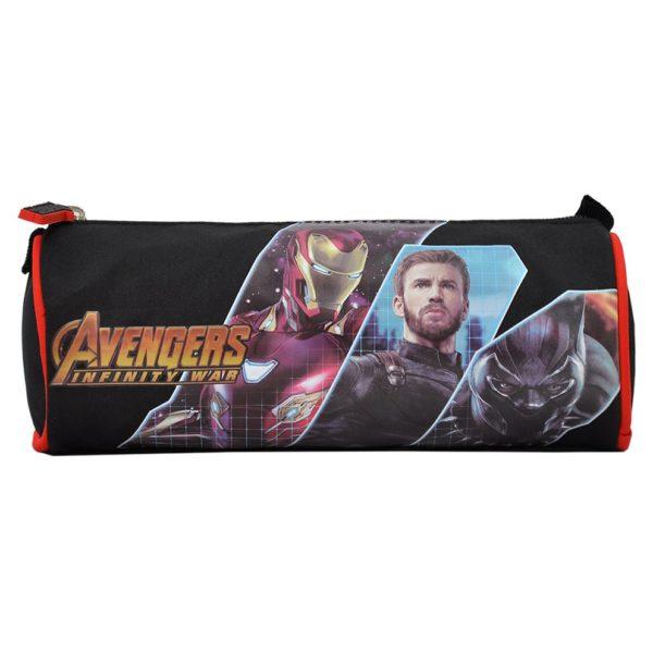Marvel Avengers Trio Round Pencil Case