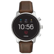 Fossil Gen4 Smartwatch Brown Leather Men