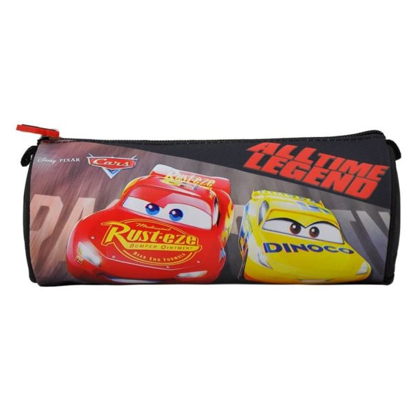 Disney CARS All Time Legend Round Pencil Case