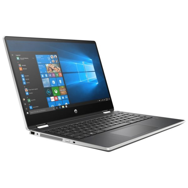 HP Pavilion x360 14-DH0012NE Convertible Touch Laptop - Core i5 1.6GHz 8GB 256GB 2GB Win10 14inch FHD Silver