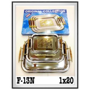 Free Romantic F-13N Serving Tray HG Promotion