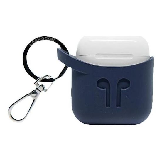 Podpocket Silicone Case Dark Blue For Apple Airpod
