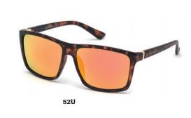Skechers Havana Plastic Non-Polarized Men Sunglasses SE604652U58