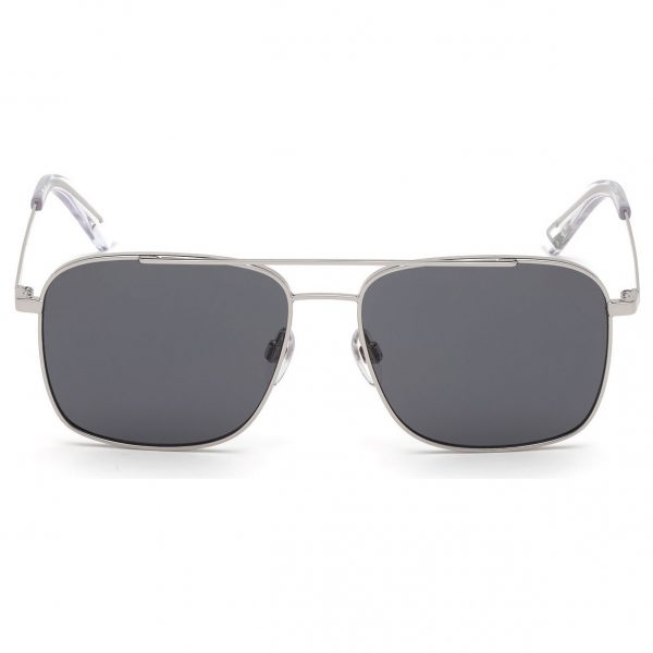 Diesel Silver Metal Non-Polarized Men Sunglasses DL029516A55