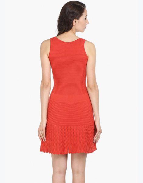 Love Gen A-Line Dress Coral Red Size M