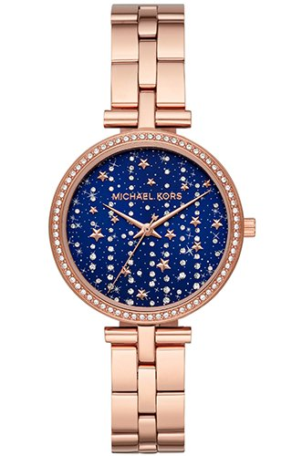 Michael Kors Maci Rose Gold Stainless Steel Women Watch MK4451