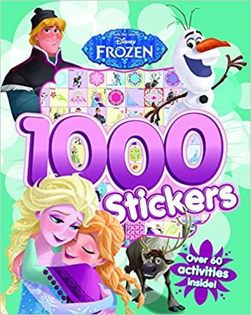 Frozen 1000 Stickers