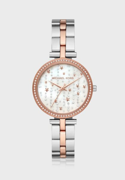 Michael Kors Maci Rose Gold Stainless Steel Women Watch MK4452
