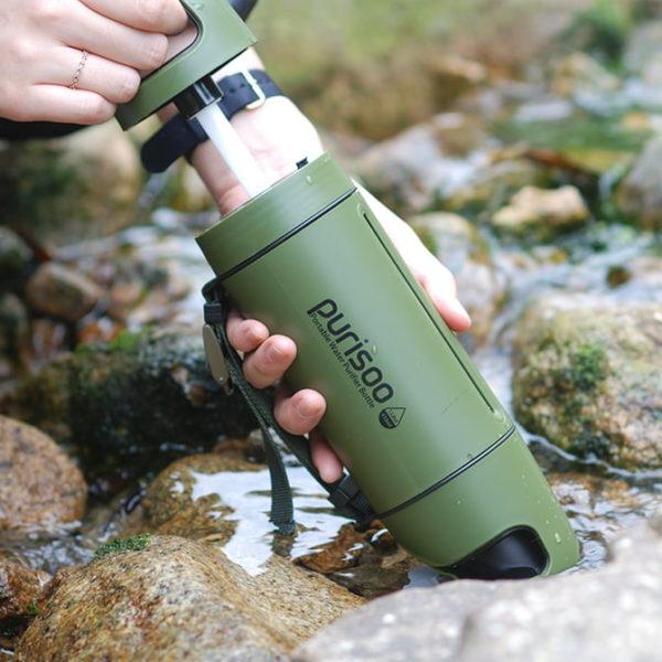 Purisoo Portable Water Purifier Bottle