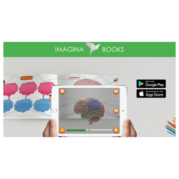 Imagina Books – An Educational Augmented Reality Book for Kids