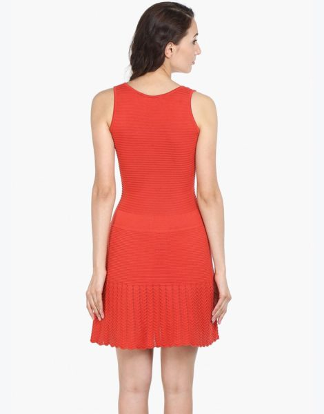 Love Gen A-Line Dress Coral Red Size S