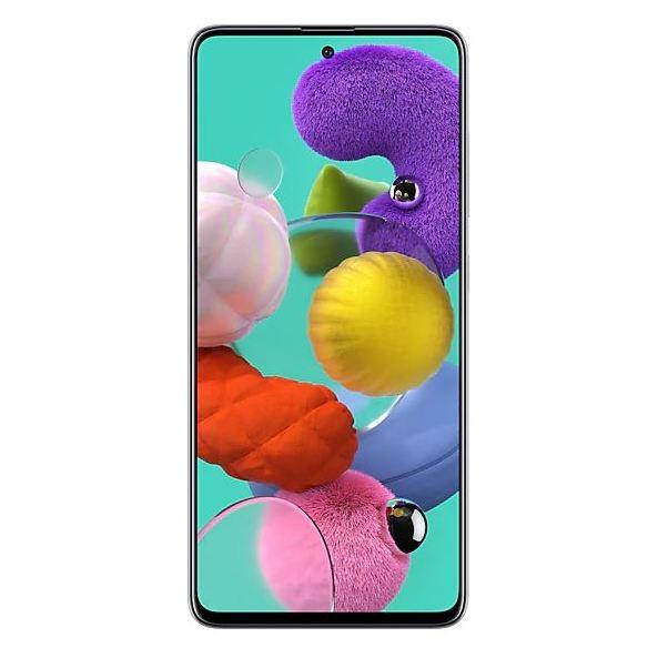 Samsung A51 128GB White 4G Dual Sim Smartphone SMA515F