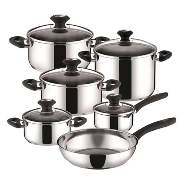 TESCOMA Stainless Steel Cookware Set 11pcs Silver