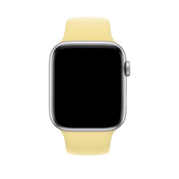 Apple 44mm Lemon Cream Sport Band - S/M & M/L