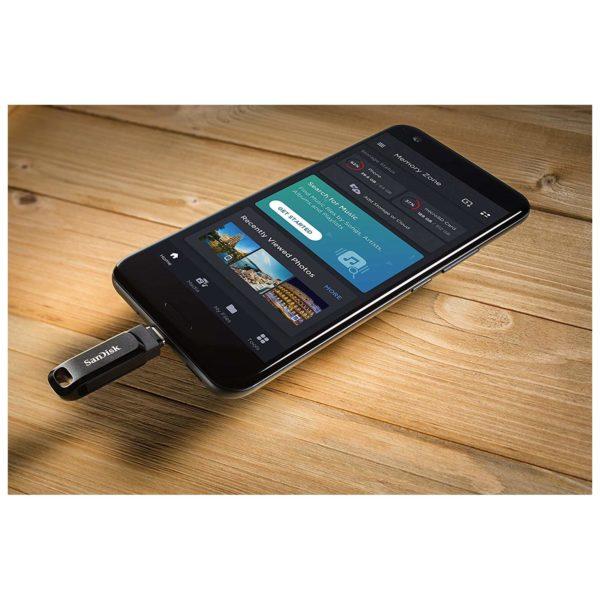 Sandisk Ultra Dual Drive Go USB Type C Flash Drive 128GB