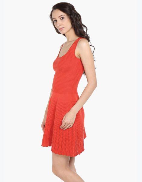 Love Gen A-Line Dress Coral Red Size L