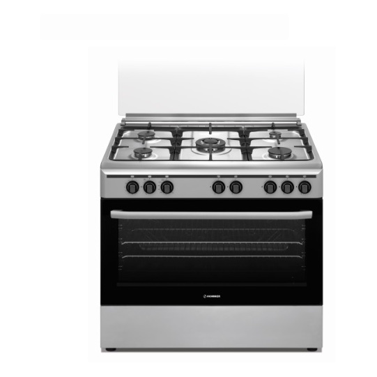 Hommer 5 Gas Burners Cooker HOM40701