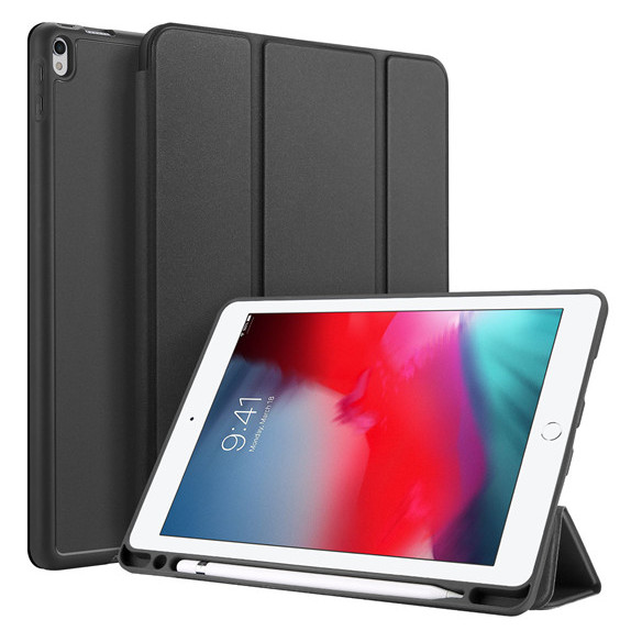 Dux Ducis Back Case Black + Tempered Glass For iPad Air 3 (2019)