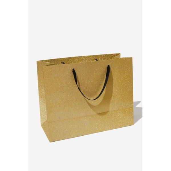 TYPO Stuff It Gift Bag Rose Gold Medium