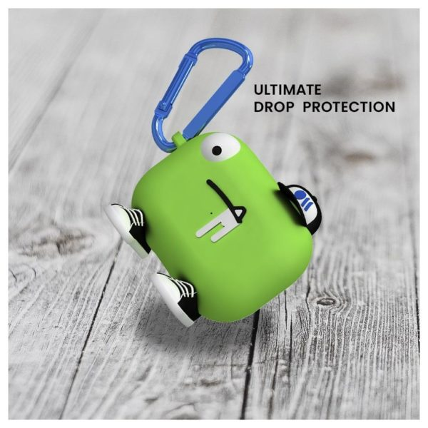 Case Mate Airpods Pro Case CreaturePods Chuck The Cool Guy Green