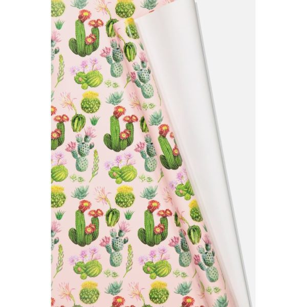 TYPO Roll Wrapping Paper Cactus Floral