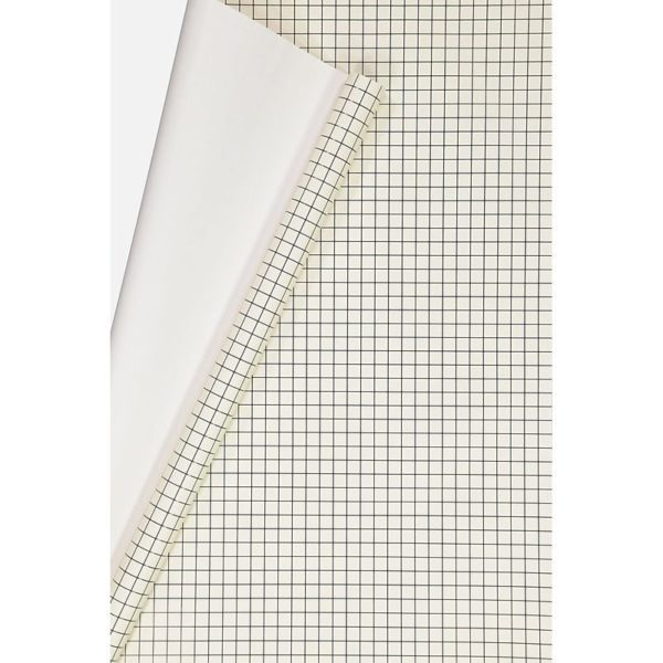 TYPO Roll Wrapping Paper Black White Grid