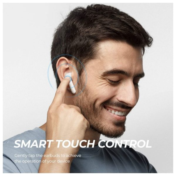 Soundpeats TrueAir Wireless Earbuds White