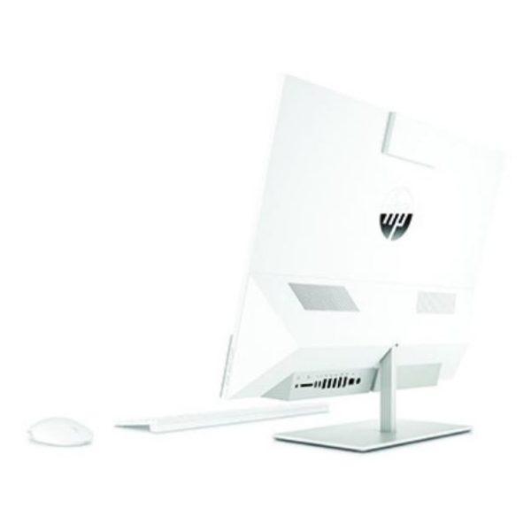 HP Pavilion 24-XA0002NE All-in-One Desktop - Core i7 2.4GHz 16GB 2TB Shared Win10 23.8inch FHD Snowflake White