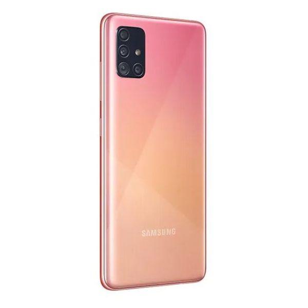 Samsung A51 128GB Pink 4G Dual Sim Smartphone SMA515F