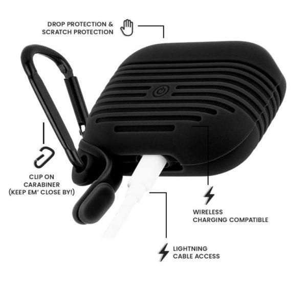 CaseMate AirPods Pro Tough Case Black