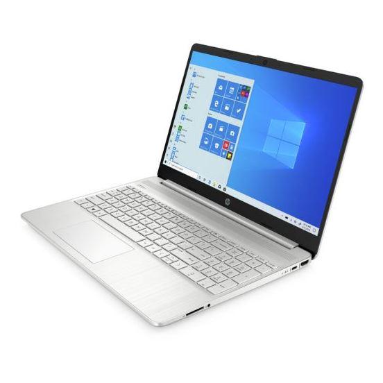 HP 15S-EQ0001NE Laptop - Ryzen 3 2.6GHz 4GB 256GB Shared Win10 15.6inch FHD Natural Silver