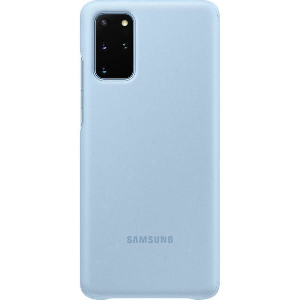 Samsung Galaxy S20+ Clear View Cover - Blue