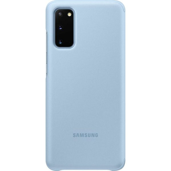 Samsung Galaxy S20 Clear View Cover - Blue