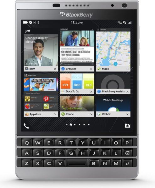 Buy BlackBerry Passport 4G Smartphone 32GB Silver – Price ...