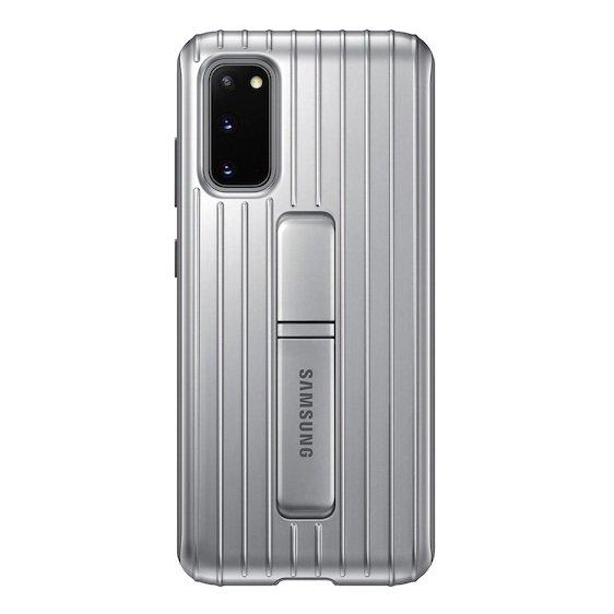 Samsung Galaxy S20 Protective Cover - Silver