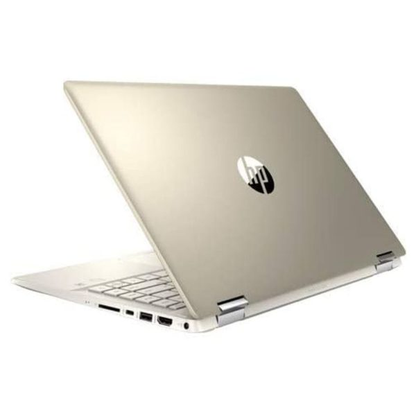 HP Pavilion x360 14-DH0001NE Convertible Touch Laptop - Core i5 1.6GHz 8GB 256GB Shared 14inch FHD Warm Gold