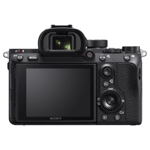 Sony A7R III Digital Mirrorless Camera Body Only Black