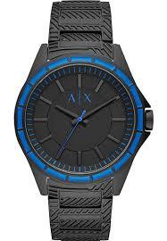 Armani Exchange Drexler Black Stainless Steel Men Watch AX2634