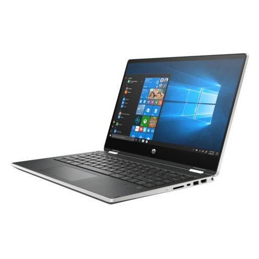 HP Pavilion x360 14-DH1013NE Convertible Touch Laptop - Core i3 2.1GHz 8GB 512GB Shared Win10 14inch FHD Natural Silver
