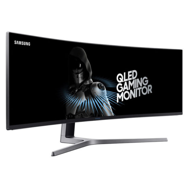 Samsung Curved Monitor with metal Quantum Dot technology 49inch