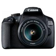 Canon EOS 2000D Digital SLR Camera Body Black + 18-55mm DC III Lens Kit