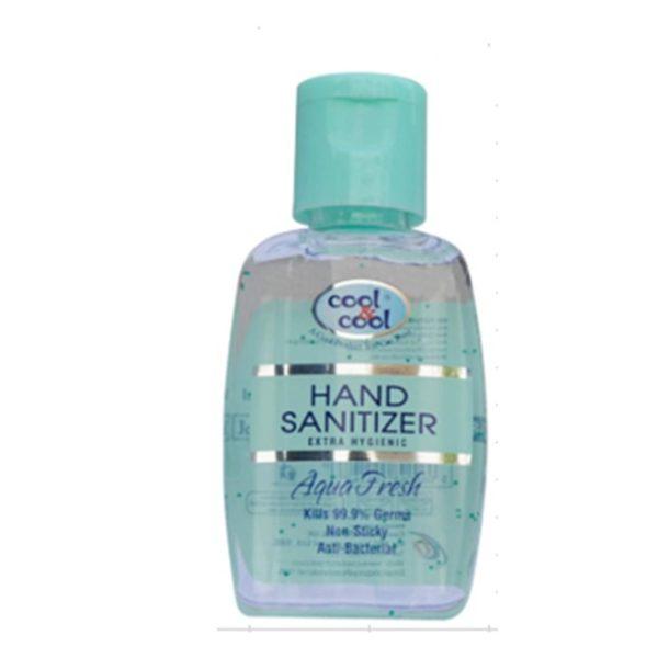 Cool & Cool Hand Sanitizer Aqua Fresh Gel 60ml