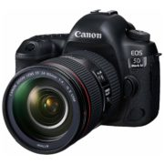 Canon EOS 5D Mark IV DSLR Camera Black With 24-105mm F/4L IS II USM Lens