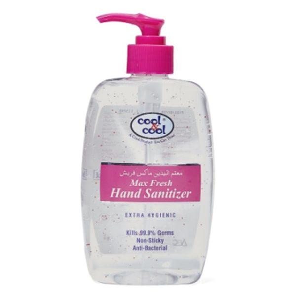 Cool & Cool Max Fresh Hand Sanitizer Gel 500ml