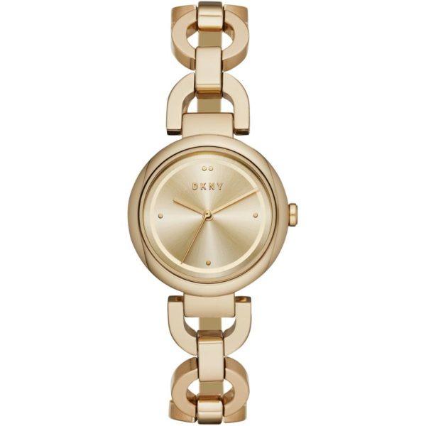 DKNY Eastside Gold Stainless Steel Women Watch NY2768