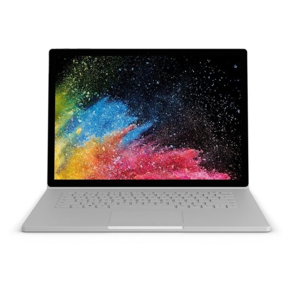 Microsoft Surface Book 2 - Core i7 1.9GHz 16GB 256GB 6GB Win10Pro 15inch Silver English Keyboard