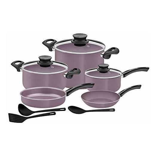 Tramontina 11pcs Cookware Set Paris Purple